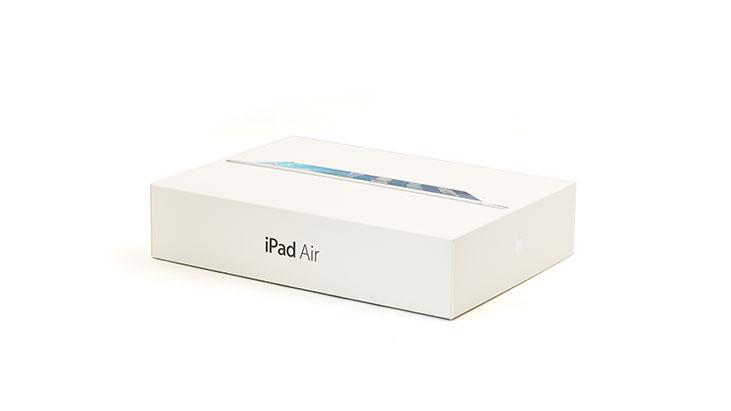 iPad Air Verpackung mieten