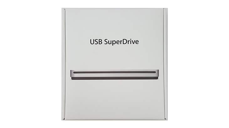 Superdrive Apple USB Laufwerk mieten Karton